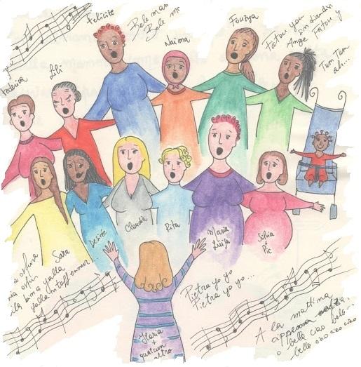 """""""Trama di voci"""": coro di donne native e migranti"""