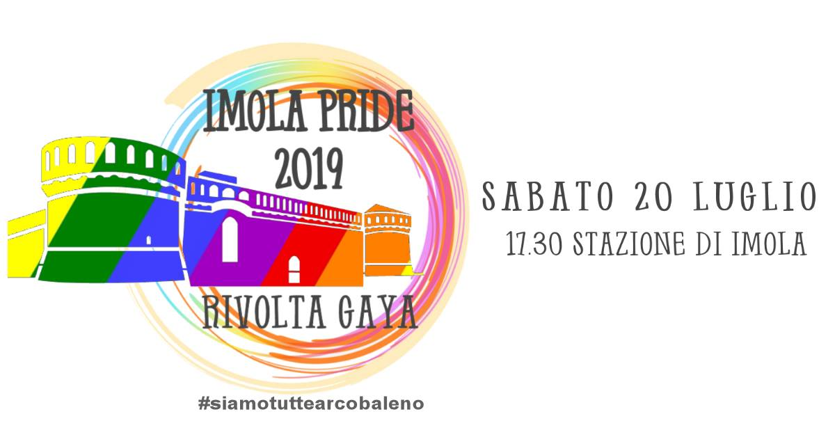 Sabato 20 Luglio, Imola Pride 2019