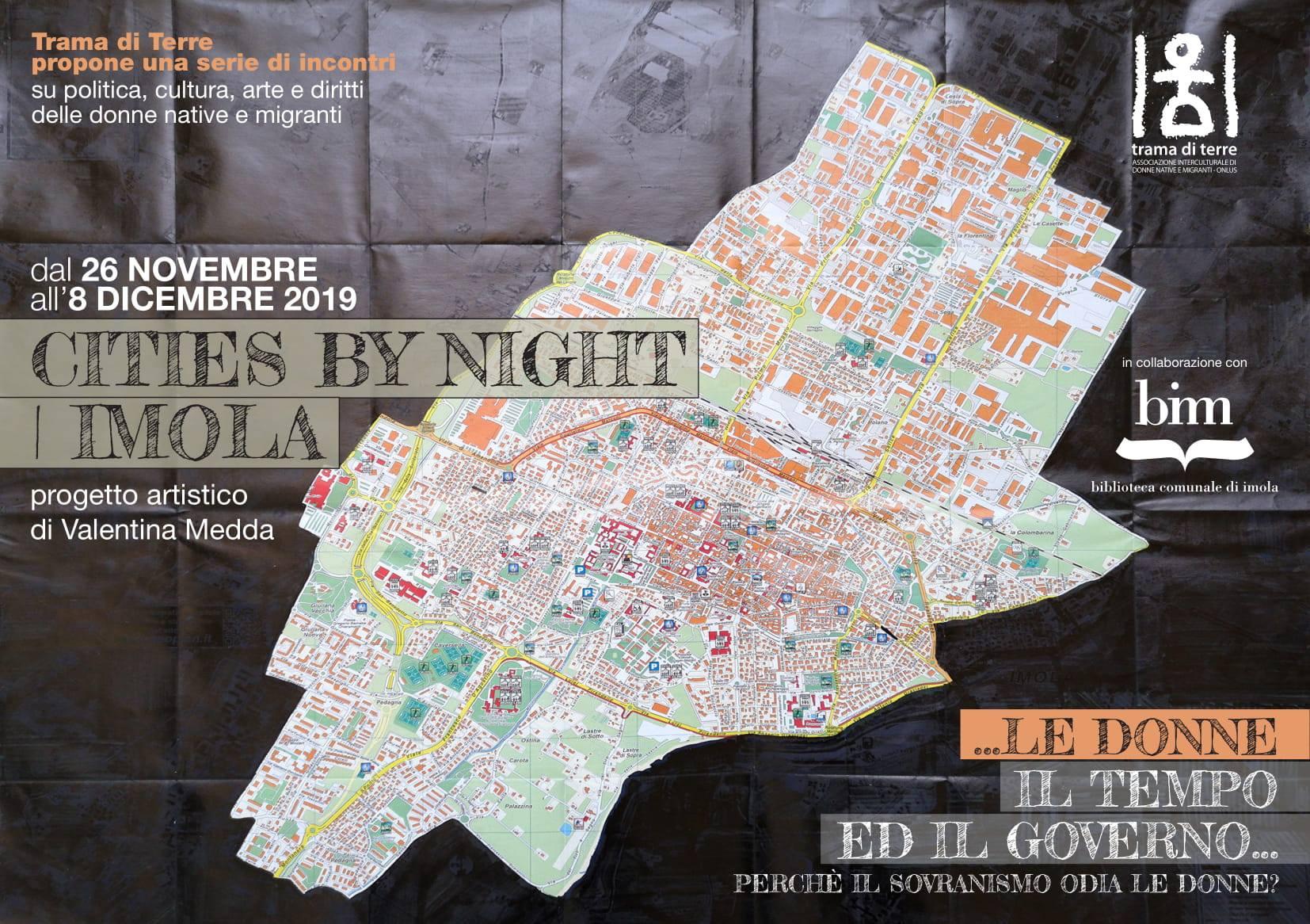"""Martedì 26 Novembre: inaugurazione della mostra """"Cities by night – Imola"""""""