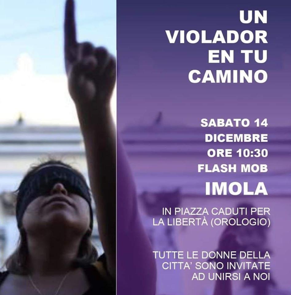 """Sabato 14 Dicembre: """"Un violador en tu camino"""" – Flash mob"""